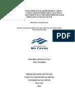 Analisis transfer pricing BAB 1-3