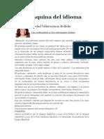 La Esquina Del Idioma.