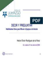 Aura Decir y Preguntar Hector Rodriguez 21.06.08