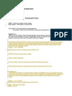 Lte Drive Test Parameters