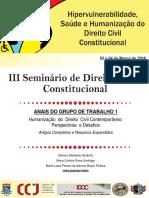 Anais - III Seminário IDCC