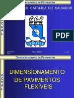Dimensionamento Pavimento Flexível - DNER 20-12-2013