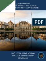2015 Health Committee Report