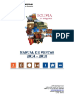 Manual de Ventas Mania Tours 2014-2015