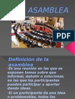 La Asamblea Diapositivas