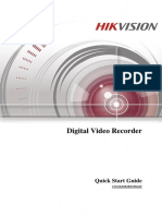 HIK VISION Quick Start Guide of TVI Series DVR