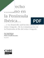 Historia del Dret Espanyol, Manual UOC