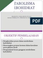 METABOLISMA KARBOHIDRAT