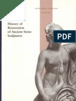 History of Restorationof Ancient Stone Sculptures. 2003.pdf