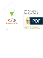 FYI Student Recipe Book
