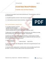 07-Rate and Unit Rate Word Problems