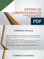 Sistema de Comandos Basicos