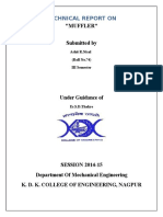 Technical Report On
