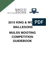 2015 Mooting Guidebook