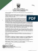 ROP rechaza incripción del Fudepp