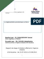 Réglementation Parasismique (Sanae)