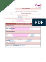 Ficha Formacion Clown Comunitario PDF