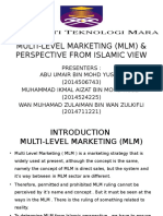 MULTI-LEVEL  MARKETING (MLM) & PERSPECTIVE FROM ISLAMIC VIEW.pptx
