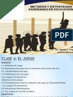 4TA. CLASE DE ESTRATEGIA PEM El Juego.ppt