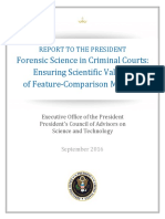 Pcast Forensic Science Report Final