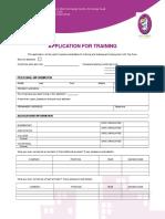 ApplicationForm Toonboom Training