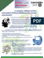 Maths Newsletter Summer 2010 (for Web)