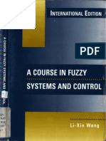 Wang La Course in Fuzzy Systems and Control