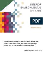 Interior environmental analysis