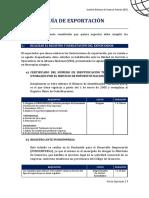 IBCE Guia Exportacion