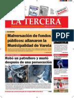 Diario La Tercera 20.09.2016