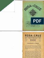Revista Rosa-Cruz, Maio de 1952