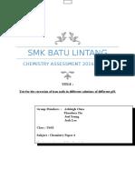 Final Chem Assessment 2016