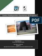 Centro Polideportivo Guastatoya-guatemala
