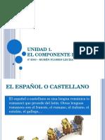 4º ESO - El léxico del castellano