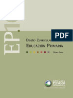Diseño Curricular Provincia de Buenos Aires PRIMARIA 1ER CICLO