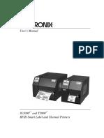 Manual Printronix 5200