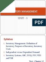 05 Inventory Management
