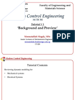 Tut 1 Modern Control Engineering