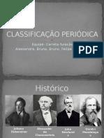CLASSIFICACAO PERIODICA