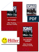 Hiller Nashville Toast Awards (2009 Assumed) 1 June 10