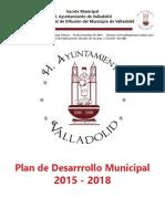 Plan de desarrollo urbano de valladolid