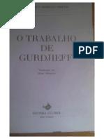 o Trabalho de Gurdjieff - Kathleen R. Speeth