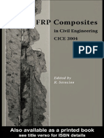 FRP Composites in Civil Engineering CICE 2004 - Proceedings of the 2nd International Conference on FRP Composites in Civil Engineering CICE 2004