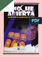 Noche Abierta Plasencia 2016