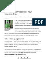 Gehaakte trappelzak - leuk kraamcadeau! - Breiclub.pdf