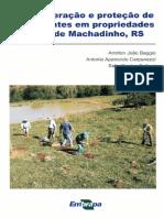 Recuperação e Proteção de Nascentes em Propriedades Rurais de Machadinho, RS
