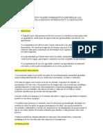 Cuadro Comparativo Que Señale Las Características de La Equidad Integración y La Educación Inclusiva