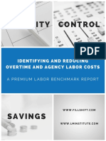 Overtime Benchmarks Report FillShift