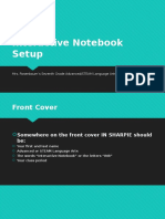 interactive notebook setup powerpoint