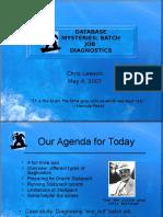 Batch Diagnostics